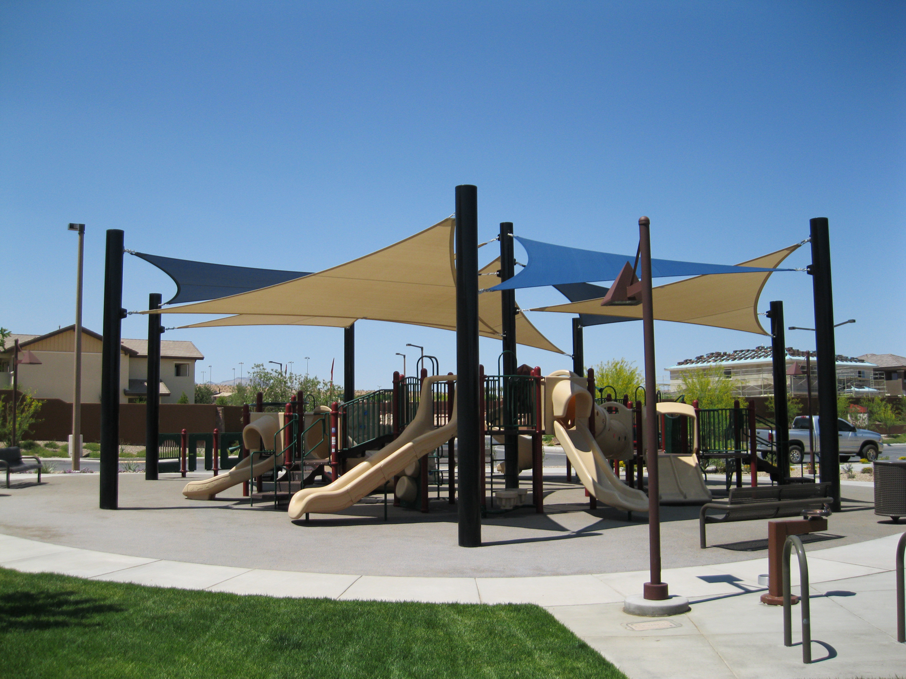 Fth industires shading solutions for Sun shade structures